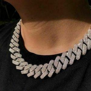 Iced Out Lab Diamond Miami Cuban Link Chain Choker